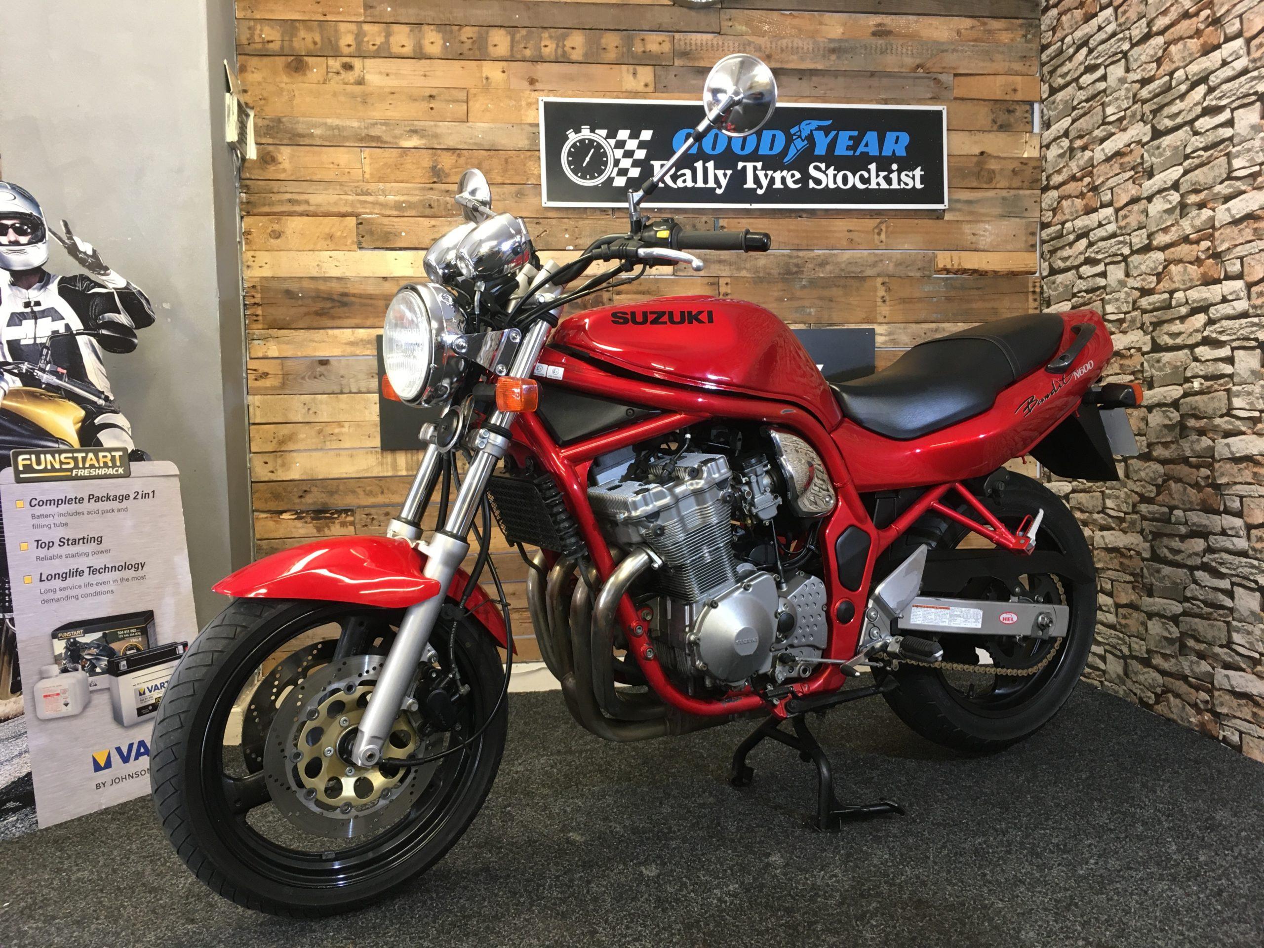 Suzuki Gsf 600 N Bandit Techmoto Motorcycles Sheffield